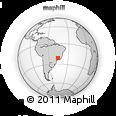 Outline Map of Alfenas