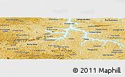Physical Panoramic Map of Alfenas