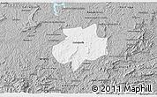 Gray 3D Map of Andrelandia