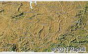 Satellite 3D Map of Andrelandia