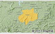 Savanna Style 3D Map of Andrelandia