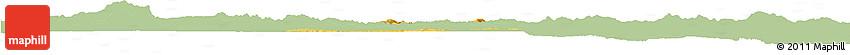 Savanna Style Horizon Map of Andrelandia, single color outside