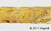 Physical Panoramic Map of Andrelandia