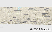 Shaded Relief Panoramic Map of Andrelandia