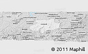 Silver Style Panoramic Map of Andrelandia