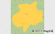 Savanna Style Simple Map of Andrelandia, single color outside