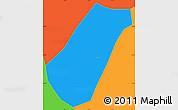 Political Simple Map of Arantina