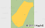 Savanna Style Simple Map of Arantina