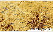 Physical 3D Map of Baependi