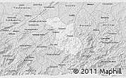 Silver Style 3D Map of Baependi