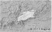 Gray 3D Map of Bocaina de Mina