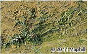 Satellite 3D Map of Bocaina de Mina