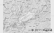 Silver Style Map of Bocaina de Mina