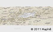 Classic Style Panoramic Map of Bocaina de Mina
