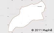 Classic Style Simple Map of Bocaina de Mina, cropped outside