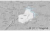 Gray 3D Map of Carrancas