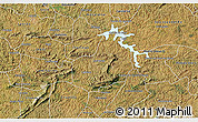 Satellite 3D Map of Carrancas