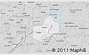 Silver Style 3D Map of Carrancas