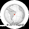 Outline Map of Carrancas