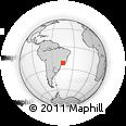 Outline Map of Caxambu