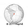 Outline Map of Cruzilia