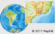 Physical Location Map of Itanhandu