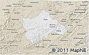 Classic Style 3D Map of Juiz de Fora