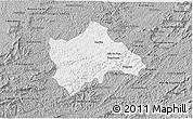 Gray 3D Map of Juiz de Fora