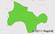 Political Simple Map of Lima Duarte, cropped outside