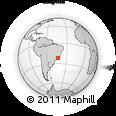 Outline Map of Matias Barbosa
