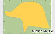Savanna Style Simple Map of Olaria