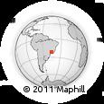 Outline Map of Paraguacu