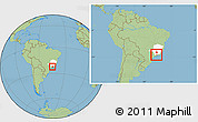 Savanna Style Location Map of Passa Quatro, highlighted parent region, within the entire country
