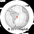 Outline Map of Pouso Alto