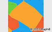 Political Simple Map of Pouso Alto