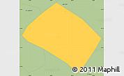 Savanna Style Simple Map of Pouso Alto