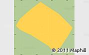 Savanna Style Simple Map of Pouso Alto, single color outside