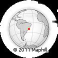 Outline Map of Presidente Soar
