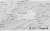 Silver Style 3D Map of Rio Preto