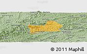 Savanna Style Panoramic Map of Rio Preto