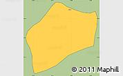 Savanna Style Simple Map of S.Rita D'jacuti, cropped outside