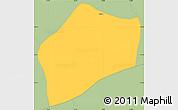 Savanna Style Simple Map of S.Rita D'jacuti