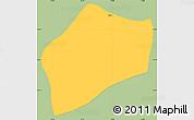 Savanna Style Simple Map of S.Rita D'jacuti, single color outside