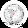 Outline Map of Sao Lourenco