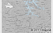 Gray 3D Map of Sao Sebastiao Do