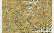 Satellite 3D Map of Sao Sebastiao Do