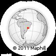 Outline Map of Sao Sebastiao Do