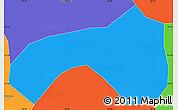 Political Simple Map of Seritinga
