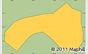 Savanna Style Simple Map of Seritinga, cropped outside