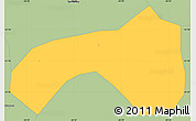Savanna Style Simple Map of Seritinga